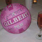 Pink & Black Ball 8